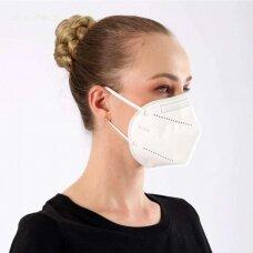 FFP2 (KN95) Respiratorius Daugkartinė Kaukė