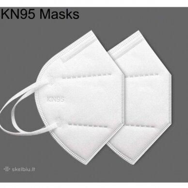 FFP2 (KN95) Respiratorius Daugkartinė Kaukė 4