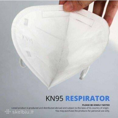 FFP2 (KN95) Respiratorius Daugkartinė Kaukė 3