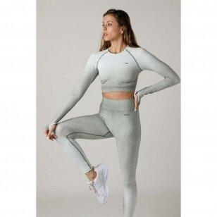 Maraton marškinėliai ilgomis rankovėmis moterims
