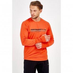 Maraton marškinėliai vyrams ilgomis rankovėmis