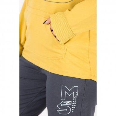 Maraton džemperis moterims su gobtuvu 5