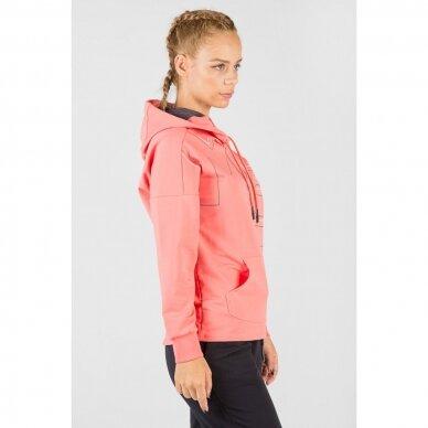 Maraton džemperis moterims su gobtuvu