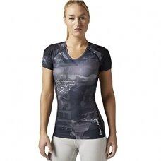 """Reebok kompresiniai marškinėliai """"Reebok CrossFit COMP SS AI9475"""""""
